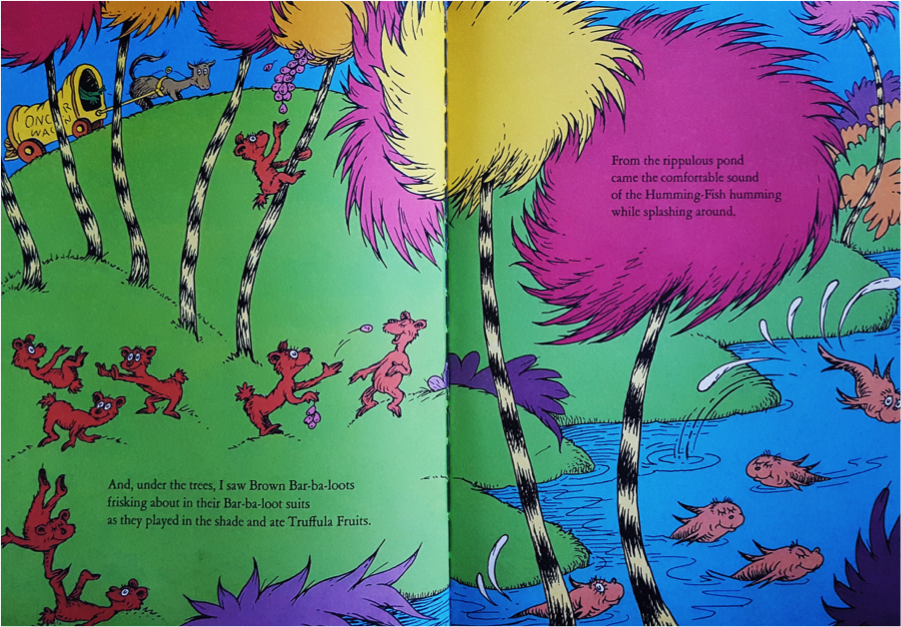 Page from The Lorax