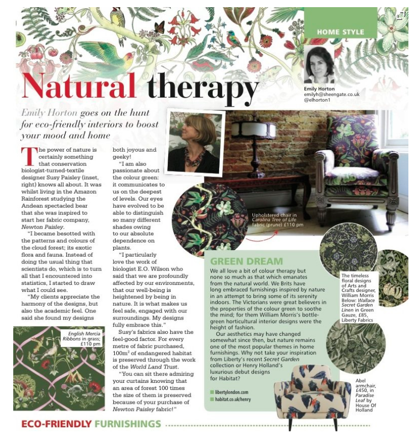 Natural Therapy article