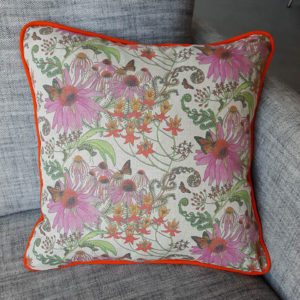Carolina monarchs cushion