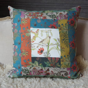 Nightingale patchwork cushion SOLD