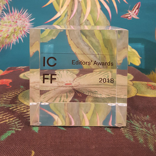 ICFF Award for Newton Paisley 2018 Wallcoverings