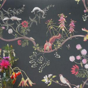Mercia Vines Wallpaper