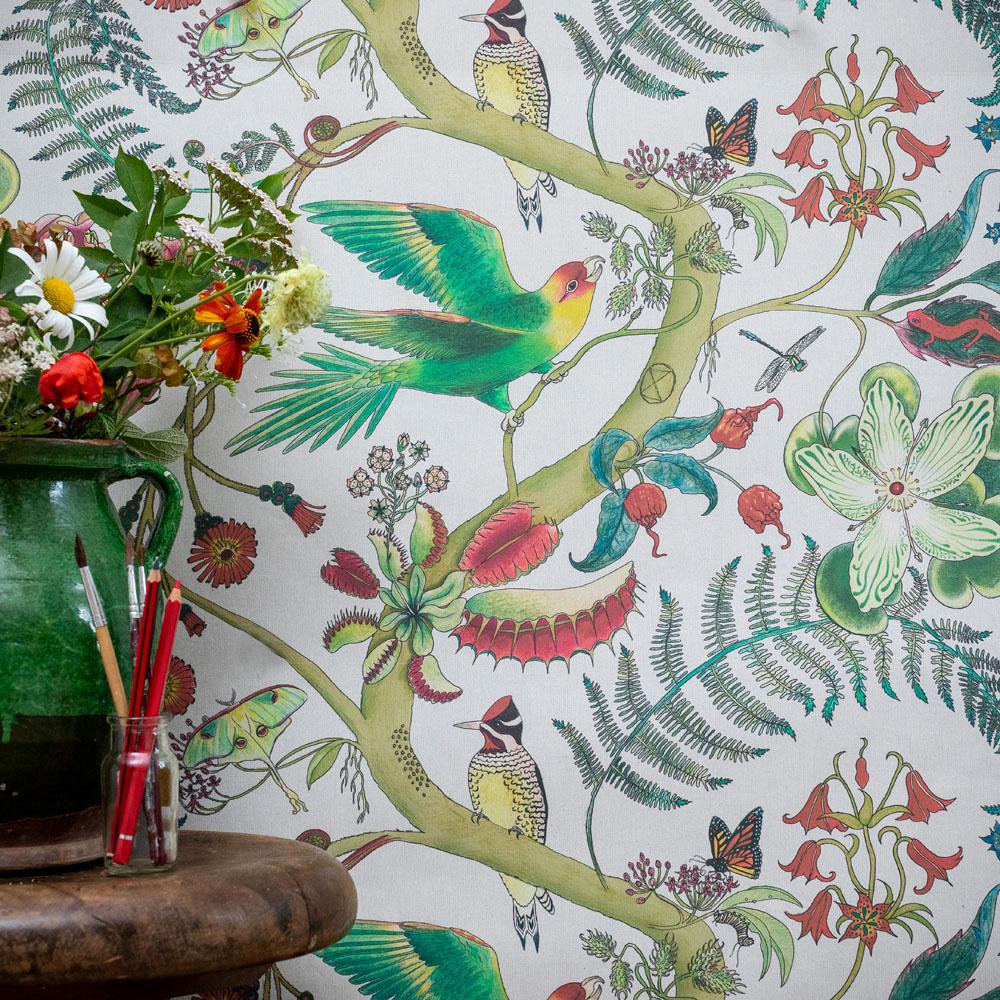 wp25A Carolina Parakeets Cream