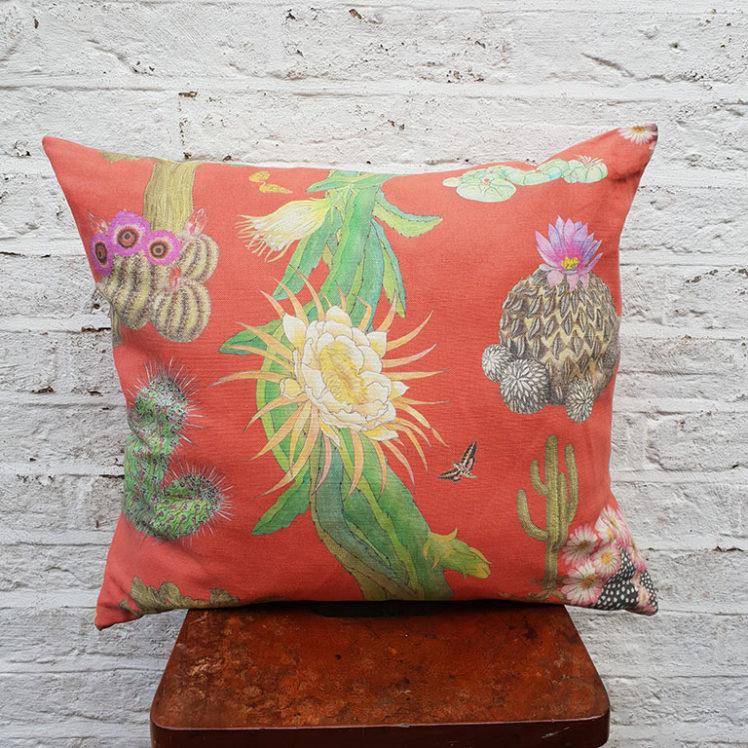 Cactus Mexicanos Cushion