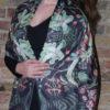 Carolina Parakeet silk wrap