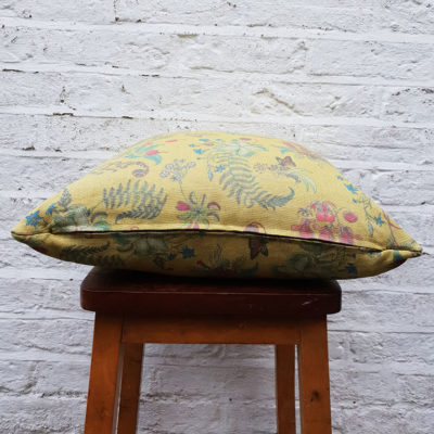 Carolina Posies Cushion in Cornbread