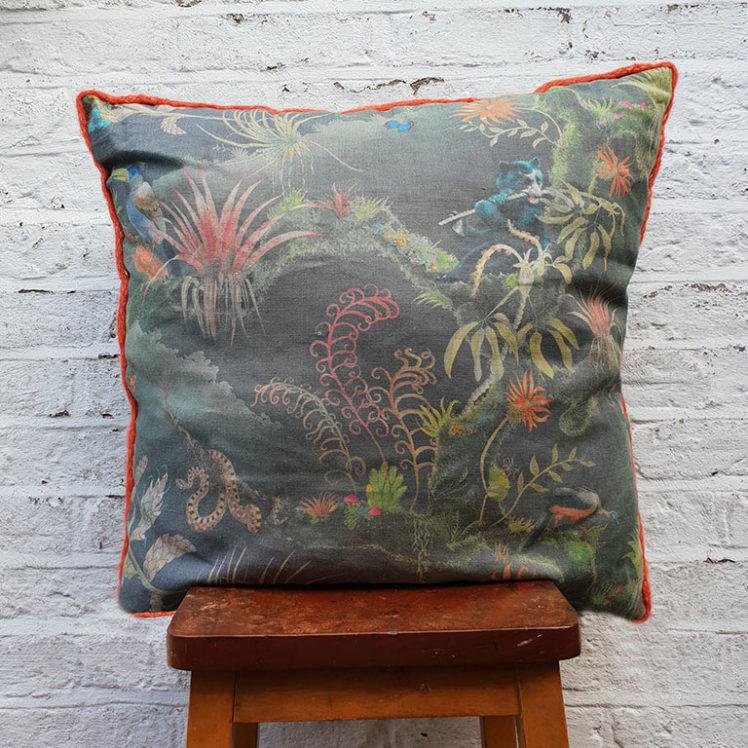 Madidi Midnight cushion