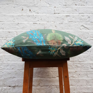 Hummingbirds Cushion in Forest