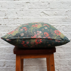 Mercia Bees Cushion in Deep Blue