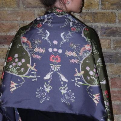 Mercia Vines Silk Wrap