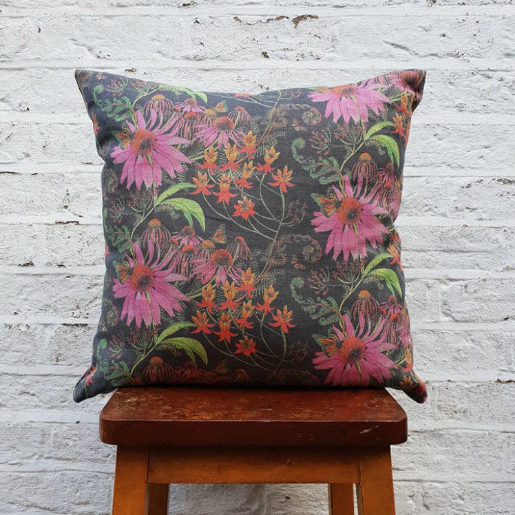 Monarch Prunus Cushion