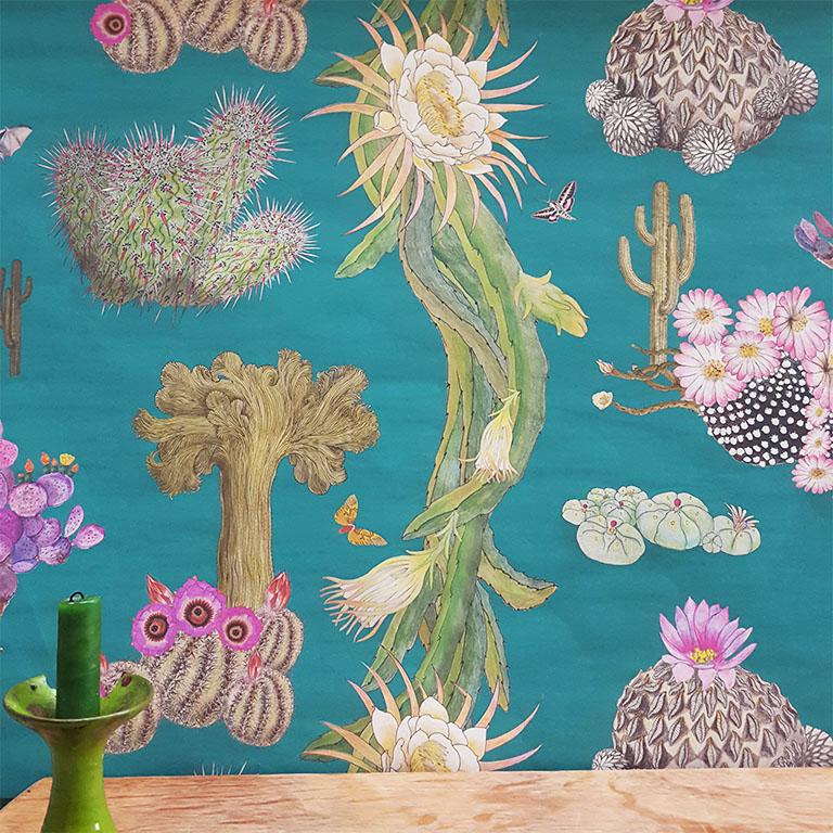 Cactus Mexicanos - Turquoise