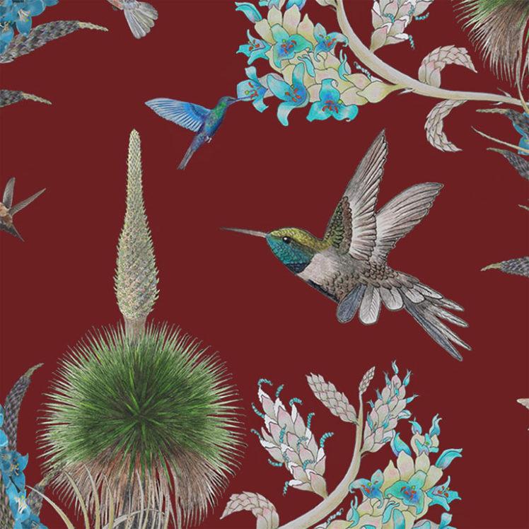 HummingbirdsOxbloodDetail