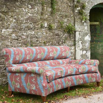 Howard Leigh sofa NP Hummingbirds