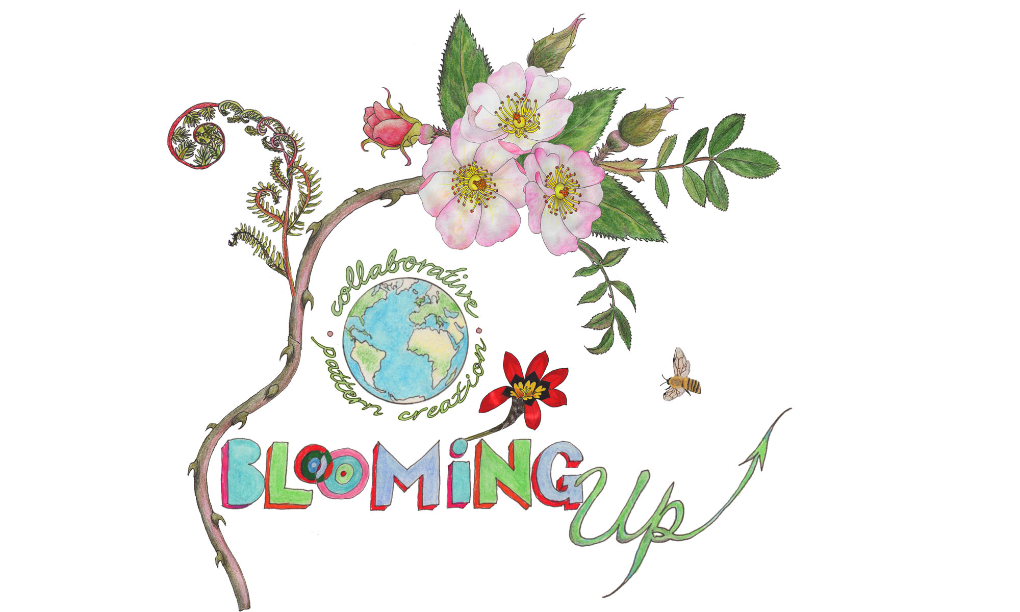 Blooming up website