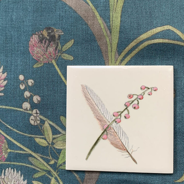 feather tile B